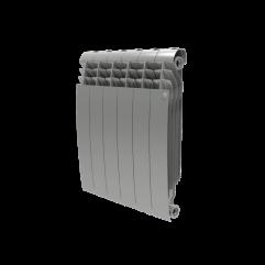 Биметалл радиатор Royal Thermo BiLiner 500 new Silver Satin Италия