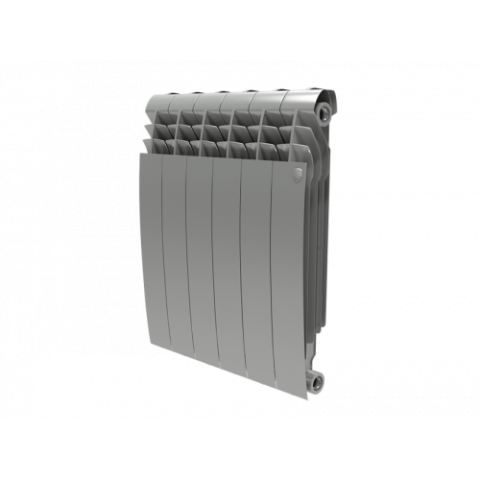 Биметалл радиатор Royal Thermo BiLiner 500 new Silver Satin Италия купить за 805 руб. в Симферополе