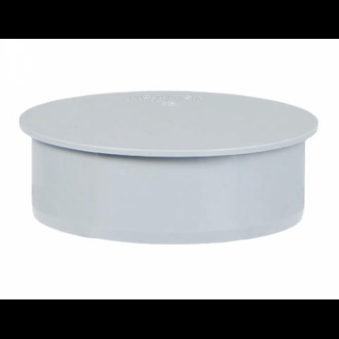 Заглушка D 50 мм, полипропилен серый Flextron купить за 6 руб. в Симферополе