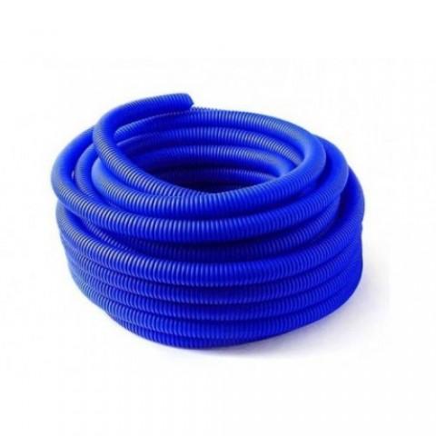Гофро-рукав (пешель) 29 (25м.бухта) синий купить за 517 руб. в Симферополе