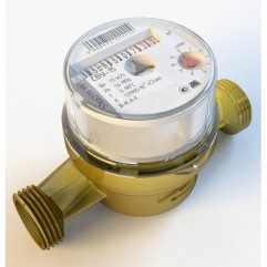 Счетчик воды МЕТЕР СВУ-15 (Невод) без штуцеров (универсальный) со вложенной инструкцией