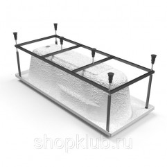 Santana 150 метал. Рама д/ванны: в комплекте со сборочным пакетом
