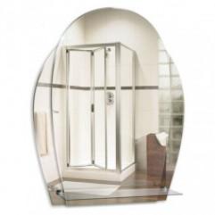 ДЕЛЬФИН зеркало (450*580) (Серебряные зеркала)