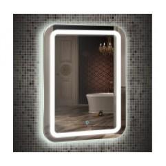 МАЛЬТА зеркало 550*800 Сенсорный выключатель (Серебряные зеркала)