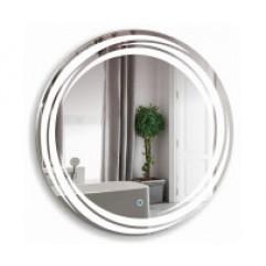 МИЛУЗ зеркало D770 Сенсорный выключатель (Серебряные зеркала)