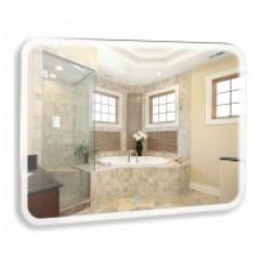 СТИВ зеркало 1000*800 Сенсорный выключатель (Серебряные зеркала)