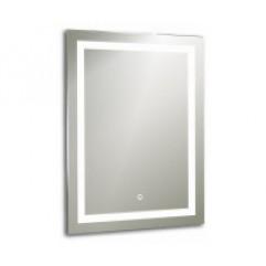 РИГА зеркало 600*800 Сенсорный выключатель (Серебряные зеркала)