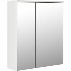 """Зеркало-шкаф Милан 55"""" белое 550х150х700 RADO"""