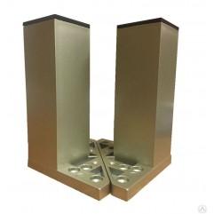 Ножки для мебели CERSANIT универсальные, 2 шт. INOX (ZP-NOGA-KPL2/Cm)