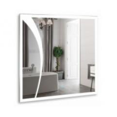 ЛИОН зеркало 770*770 Сенсорный выключатель (Серебряные зеркала)