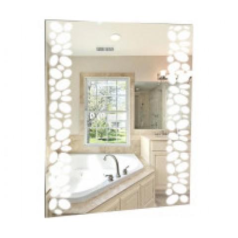 ИЗМИР-ЛЮКС зеркало (535*750) (короб, LED, мех. выключатель) (Серебряные зеркала) купить за 3 727 руб. в Симферополе