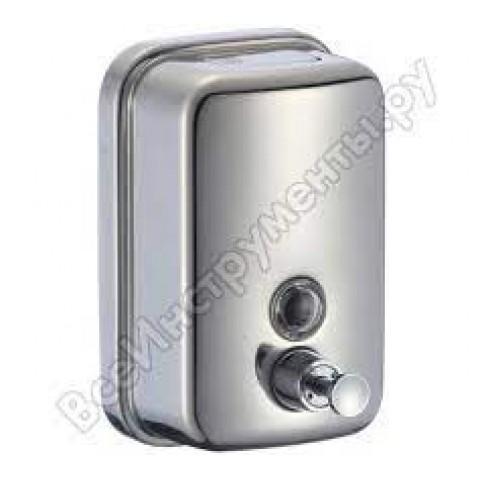 Дозатор для жидкого мыла настенный  SAVOL   ХРОМ (металл)   0,5л   S-00401 купить за 713 руб. в Симферополе