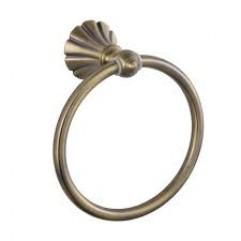 95147 - MAGNUS - Держатель полотенца кольцо БРОНЗА