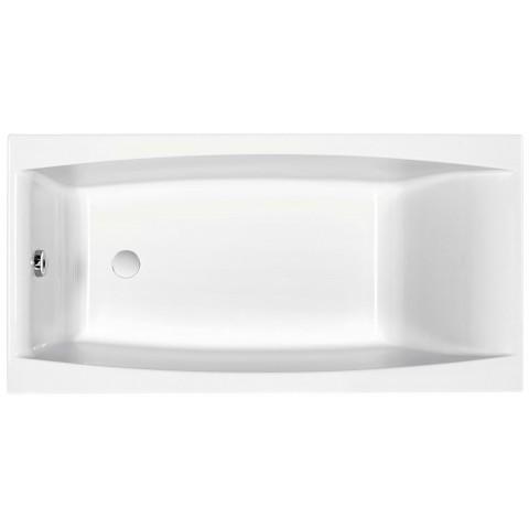 VIRGO ванна прямоугольная 180*80, белая (P-WP-VIRGO*180NL) купить за 16 024 руб. в Симферополе