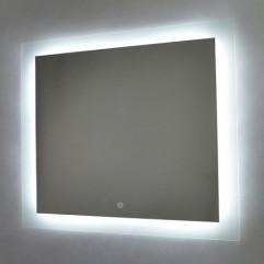НОРМА зеркало 800*600 Сенсорный выключатель (Серебряные зеркала)