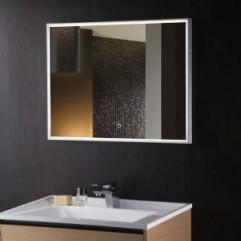САНТАНА зеркало 800*600 Сенсорный выключатель (Серебряные зеркала)
