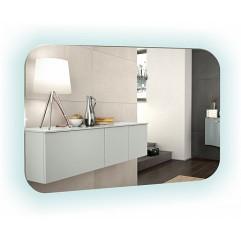 ШАМПАНЬ зеркало 800*550 Выключатель-датчик на движение  (Серебряные зеркала)