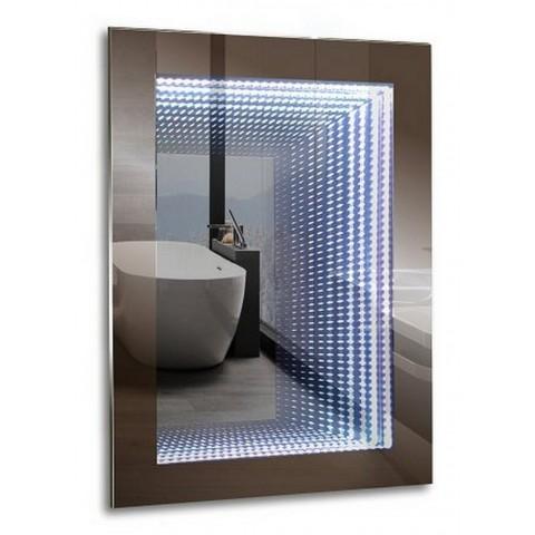 ГАЛАКТИКА зеркало 600*800 Выключатель-датчик на движение  (Серебряные зеркала) купить за 9 356 руб. в Симферополе