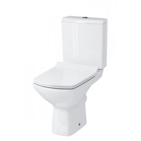 CARINA NEW CLEAN ON 011 Компакт 3/5 с кр.дюро.SLIM Lift, easy-off белый (S-KO-CAR011-3/5-COn-S-DL-w) купить за 12 283 руб. в Симферополе