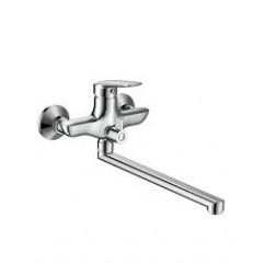 PRAHA new смеситель для ванны, L-излив 30 см, хром, 35 мм