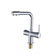 DAICY mini смеситель для кухни однорычажный с подключением питьевой воды, хром