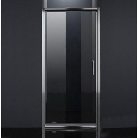 Дверь в нишу распашная 80*185 хром прозрачная купить за 12 780 руб. в Симферополе