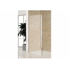 Боковая стенка прозрачная, 80 см,  для комплектации с дверями 599-150, 599-163