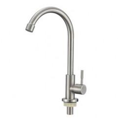 .SUS   269   SAVOL S-SUS7002  одна вода с высоким гусаком НЕРЖ. СТАЛЬ (12)