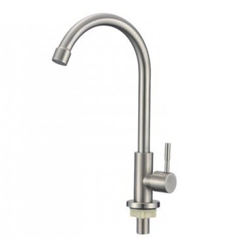 .SUS   269   SAVOL S-SUS7002  одна вода с высоким гусаком НЕРЖ. СТАЛЬ (12) купить за 772 руб. в Симферополе