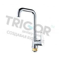 008F  C4-7-401 (402)  TRIGOR Смеситель  д/кухни  гайка к35    (10)