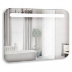 ВЕСТА зеркало 800*550 Выключатель-датчик на движение (Серебряные зеркала)