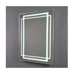 МАДРИД зеркало 600*800 Сенсорный выключатель (Серебряные зеркала)