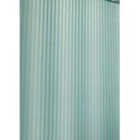 """002-F Шторка для ванной однотонная """"Полоска"""" голубой купить за 689 руб. в Симферополе"""