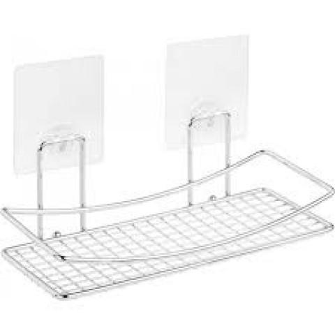 """KLE-LT032 Полка-решетка для ванной настенная на силиконовом креплении """"Kleber Lite"""" купить за 654 руб. в Симферополе"""