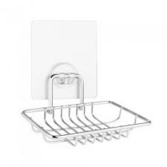 """KLE-LT034 Мыльница-решетка для ванной настенная на силиконовом креплении """"Kleber Lite"""""""