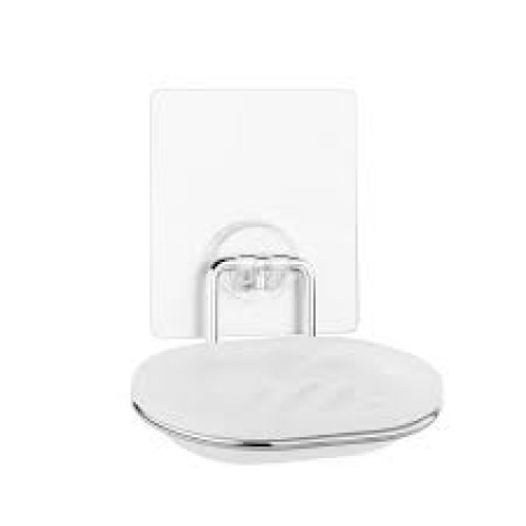 """KLE-LT036 Мыльница для ванной настенная на силиконовом креплении пластиковая """"Kleber Lite"""" купить за 327 руб. в Симферополе"""