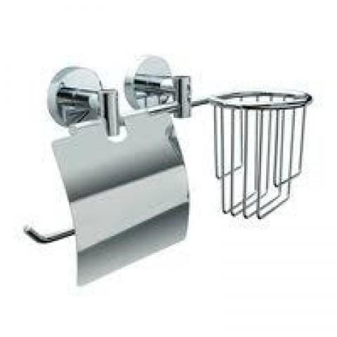 """L045-2 Держатель для туалетной бумаги и освежителя воздуха с двумя крепежами """"Long"""" купить за 1 087 руб. в Симферополе"""