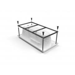 Santana 160 метал. Рама д/ванны: в комплекте со сборочным пакетом