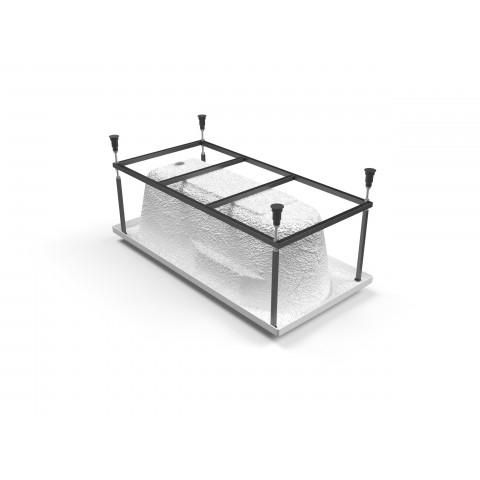 Santana 170 метал. Рама д/ванны: в комплекте со сборочным пакетом купить за 2 906 руб. в Симферополе