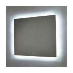 НОРМА-2 зеркало 800*600 Сенсорный выключатель + ПОДОГРЕВ (Серебряные зеркала)