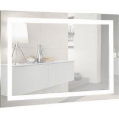 ЛИВИЯ-2 зеркало 800*600 Сенсорный выключатель + АНТИЗАПОТЕВАНИЕ  (Серебряные зеркала)