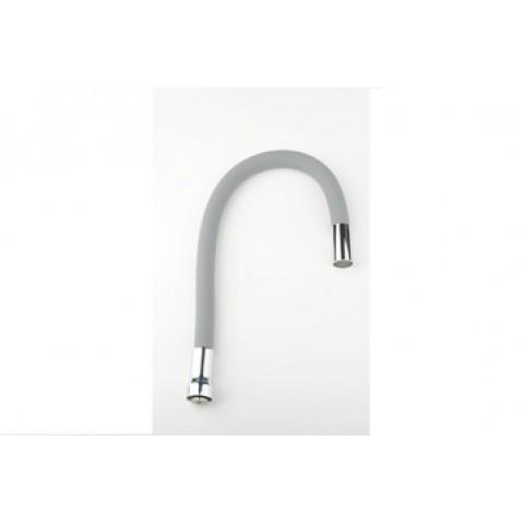 HB7180-3 гибкий силиконовый излив нерж. SUS304 (серый) купить за 753 руб. в Симферополе