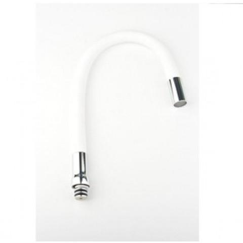 HB7180-8 гибкий силиконовый излив нерж. SUS304 (белый) купить за 777 руб. в Симферополе