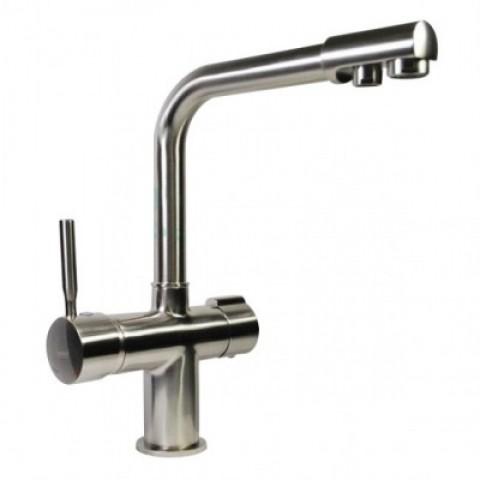 MIXXUS PREMIUM HANS 021 НЕРЖ смеситиль для кухни с выходом для питьевой воды (8 шт/ящ) купить за 5 270 руб. в Симферополе