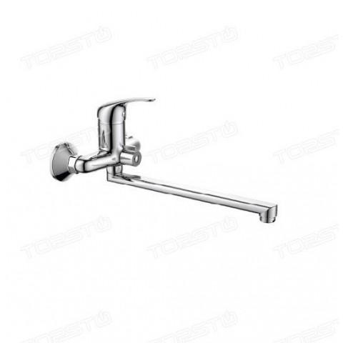 HB2203-K Смеситель для ванной комнаты, длинный излив купить за 3 335 руб. в Симферополе