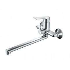 HB22559 Смеситель для ванны с изливом 35см и переключателем в корпусе, хром