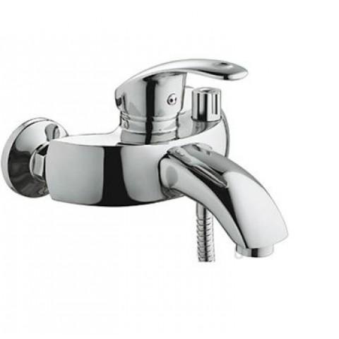 HB3221 Смеситель для ванны короткий излив шаровый переключатель в корпусе хром купить за 4 761 руб. в Симферополе