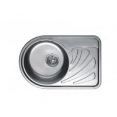HB S6744 кухонная мойка матовая