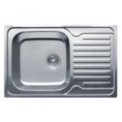 HB D5078 Мойка кухонная полуторка с крылом декор