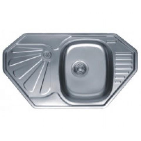 HB S8547 кухонная мойка углов матовая купить за 2 832 руб. в Симферополе